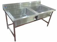 kitchen double basin