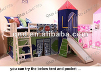 pine wood kids beds/mid sleeper beds/loft bed