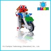 walking building block preschool educational toys