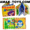 BTL-120104-3 educational cloth book Children cartoon Animal cloth book