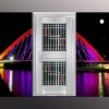 One-stop building materials high quality security steel door exterior