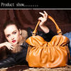 New fashion genuine leather lady's handbags very popular leather handbags