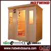 2012 wooden sauna room