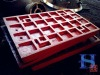 Jaw plate, Broker spare parts, jaw broker plate