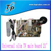 Universal slim flat TV main board 14''-21''