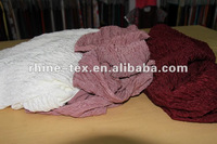 double knitted jacquard crush dyed fabric