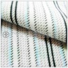 100% cotton stripe pattern woven flannel fabric