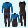 Neoprene Blue Wetsuit