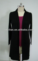 100% superfine merino wool lady fashion office career/ casual dress long gown