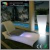illuminated led pool chaise lounge