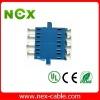 4x lc fiber optic adapter
