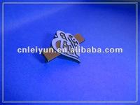 metal brand logo label