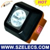 3W CREE HOT popluar digital mining head lamp with time/product numbr/battery display