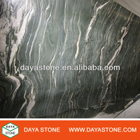 polished green granite new azul tropical