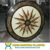 Water-Jet Marble Medallion Floor Tile