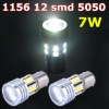 12 SMD CREE High Power LED Car Auto Brake Stop Tail Light Lamp Bulb White