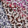 printed spun rayon fabric
