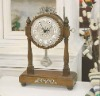 Wooden clock Classic Decorative Table