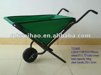 Polyster folding wheelbarrow