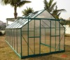 6mm Twin-wall Small Polycarbonate Greenhouse Come with 2 Vents 8' X 16' RE0816