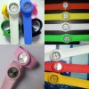 Colorful sports silicone watch
