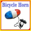 6 LED 4 Sound Electronic Bicycle Bike 4 Tones Bell Beeper Siren Horn Car Light Trumpet