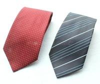 100% silk skinny jacquard ties for men