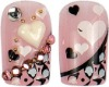 2012 lastest fashion Japanese 3D artificial nail art