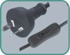 Argentina power cords IRAM with 304 hand switch
