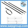 Plastic coated Stainless steel cable tie