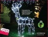 LED wireless outdoor Christmas solar light Solar Reindeer Light