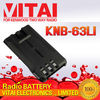 KNB-63LI Handheld Two Way Radio Battery for TK-2000/TK-3000/TK-U100