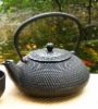 cast iron teapot 500ml included tea strainer,castiron teapot,cast iron tea pot