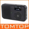Mini Pocket DAB DAB+ FM Radio MP3 Recorder Alarm Clock