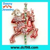 Christmas custume Santa shape alloy brooch in 2013