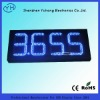 "10"" 8.888 Blue LED gas station price signs for sale"
