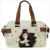 hand painted women's bag