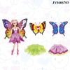 Fashion doll plastic fashion doll fashion girl doll Lelia dream butterfly faerie have light EN71