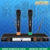 Professional UHF PLL 2x150CHs ACT/IR Wireless Microphone AE-U981
