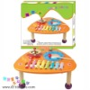 wooden toys music instrument desk TZ-B1082A