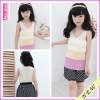 2012 latest plain chiffon plain summer cake design girl's t shirts,children clothing