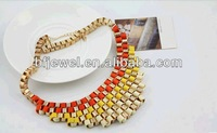 2012 New Retro major suit hit color Necklace