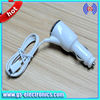 Car charger for iphone 5 with usb cable