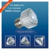 3*1W LED Spotlight (E27,MR16) Xiamen factory