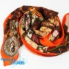 2012 newest brand designer cotton scarf pashmina with roses JSWJ0137