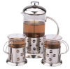 Best selling glass tea maker set design WK-2608