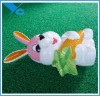 Plastic Rabbit Saving Pot, can make noise