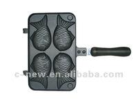 1pc cast aluminium non-stick bakeware