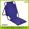 Popular outdoor leisure foldable portable sand beach chair beach mat