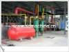 2012 The hottest used rubber/tyre oil refining/distillation/pyroysis machine/plant without polution